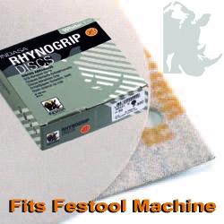 "6"" White Line H/L 9 Hole Festool Disc"