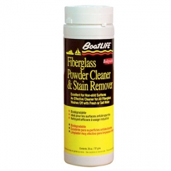 FIBERGLASS POWDER CLEANER AND STAIN REMOVER
