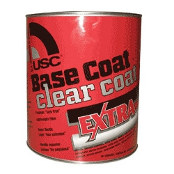 BASE COAT - CLEAR COAT