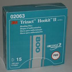 "3M 6"" TRIZACT HOOKIT II BLENDING DISC"